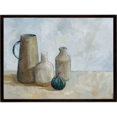 Stampa incorniciata A Collection of Jars  32x42 cm