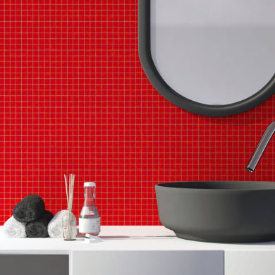 Mosaico Campione Ibisco 20 H 0.4 x L 9 cm
