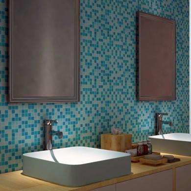 Mosaico Campione Mineral Blu  20 H 0.4 x L 9 cm