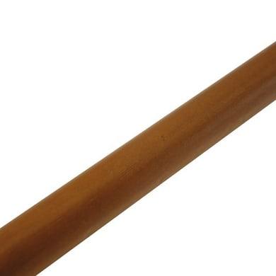 Bastone per tenda Zip CL in legno Ø11mm ciliegio verniciato 60 cm