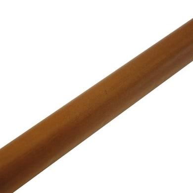 Bastone per tenda Zip in legno Ø11mm ciliegio verniciato 120 cm