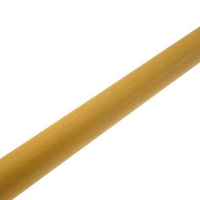 Bastone per tenda Zip in legno Ø 11 mm rovere verniciato 60 cm