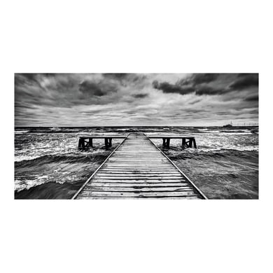 Quadro su tela Wharf 145x75 cm