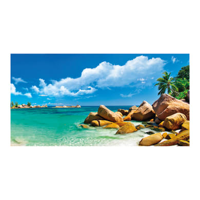 Quadro su tela Beach 145x75 cm