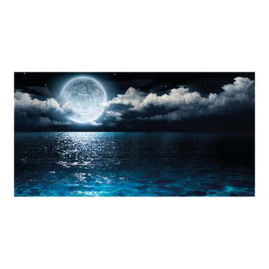 Quadro su tela Luna 145x75 cm