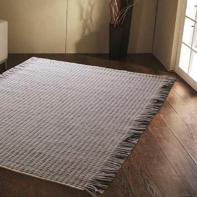 Tappeto Stockholm in lana, grigio, 160x230 cm