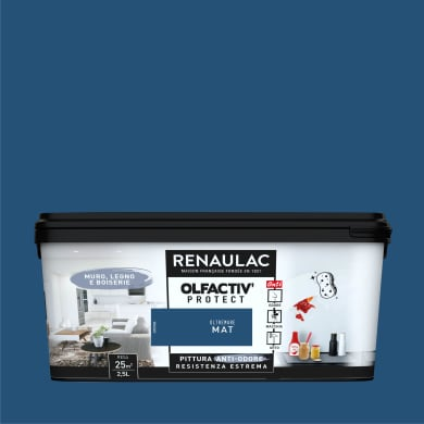 Pittura murale RENAULAC 2.5 L blu oltremare