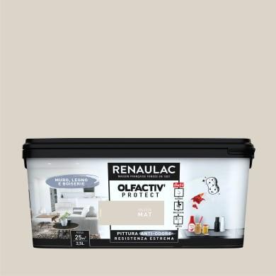 Pittura murale RENAULAC 2.5 L beige falesia