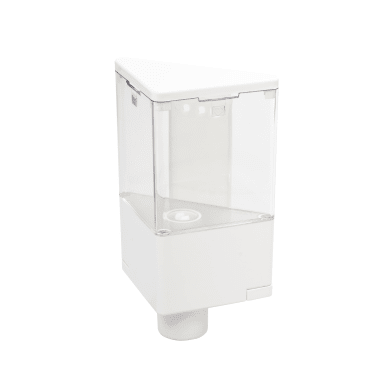 Dispenser sapone Quick soap bianco/trasparente