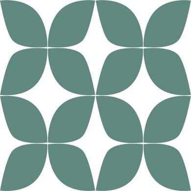 Carta da parati Foglie verde mare, 53 cm x 10.05 m
