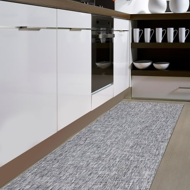 Tappeto interno ed esterno I-TEX , nero e bianco, 120x180 cm