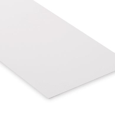 Lastra polipropilene bianco 21 cm x 29.7 cm, Sp 1 mm