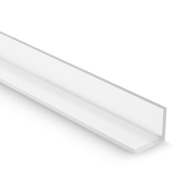 Elemento angolare in pmma trasparente lucido x 2000 mm,