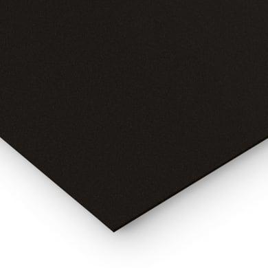 Lastra polipropilene nero 42 cm x 29.7 cm, Sp 1 mm