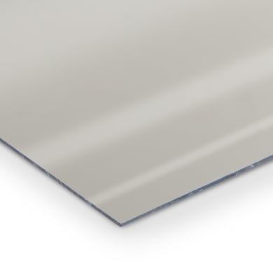 Lastra specchio polistirene argento 42 cm x 29.7 cm, Sp 2 mm