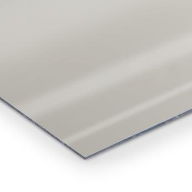 Lastra specchio polistirene argento 50 cm x 50 cm, Sp 2 mm