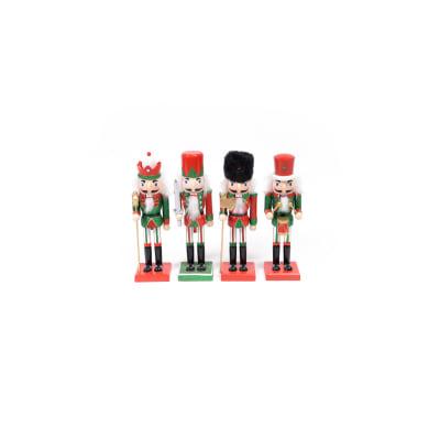 Schiaccianoci multicolore H 25 cm