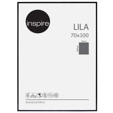 Cornice INSPIRE Lila nero per foto da 70x100 cm