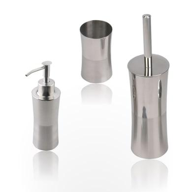 Set di accessori per bagno Urban cromo in acciaio , 3 pezzi
