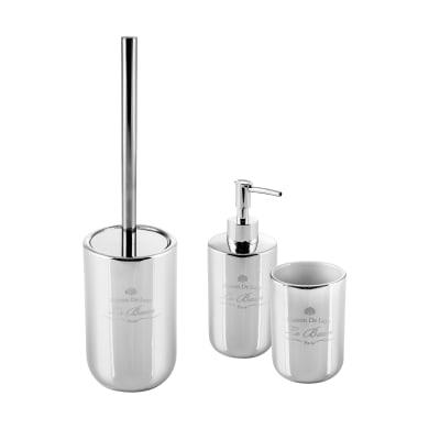 Set di accessori per bagno Alkemy grigio in ceramica , 3 pezzi