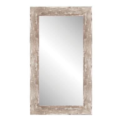 Specchio a parete rettangolare Nivala beige 70x90 cm