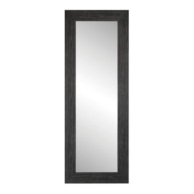 Specchio a parete rettangolare Nivala nero
