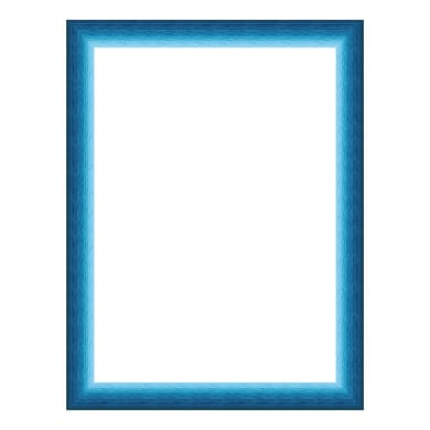 Cornice INSPIRE Bicolor azzurro<multisep/>blu per foto da 70x100 cm