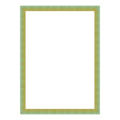 Cornice INSPIRE Bicolor verde<multisep/>giallo per foto da 70x100 cm