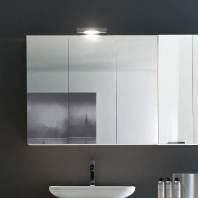 Specchio non luminoso bagno Easy L 85 x H 75 cm