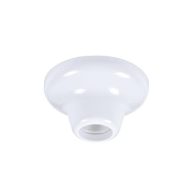 Plafoniera Goteo bianco D. 12 cm 12x12 cm, INSPIRE