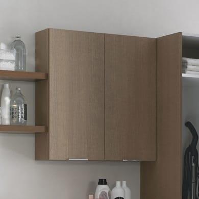 Mobile lavanderia bianco L 50 x P 37 x H 50 cm