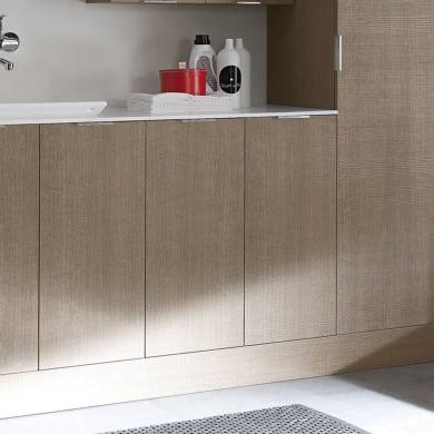 Mobile lavanderia bianco L 25 x P 37 x H 125 cm