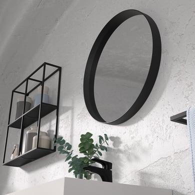 Specchio non luminoso bagno rotondo OUTLINE L 60 x H 60 cm Ø 60 cm