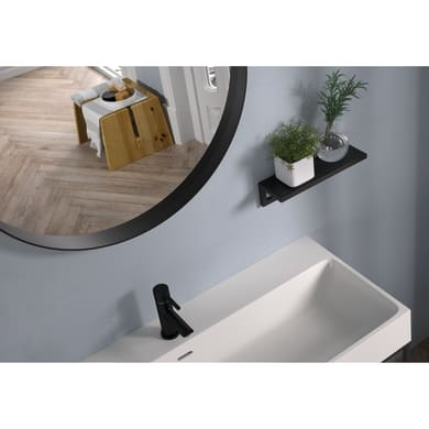 Specchio non luminoso bagno rotondo OUTLINE L 75 x H 75 cm Ø 75 cm
