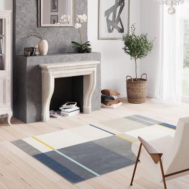 Tappeto Canvas Square , grigio, 160x230 cm