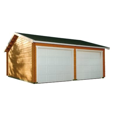 Garage in legno Koski 31.47 m², Sp 44 mm