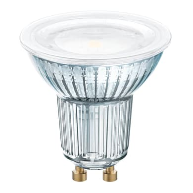 Lampadina LED, GU10, Faretto, Trasparente, Luce naturale, 6.5W=575LM (equiv 80 W), 120° , OSRAM