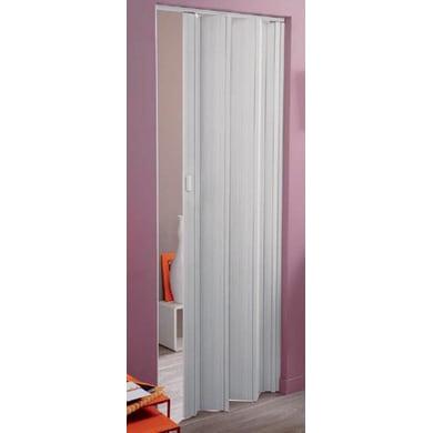 Porta pieghevole Rio in pvc bianco L 83 x H 214 cm