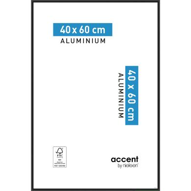 Cornice Accent nero per foto da 40x60 cm