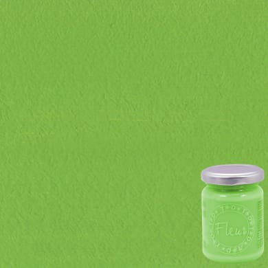 Colore acrilico FLEUR Bamboo 0.13 L verde opaco