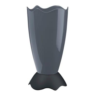 Portaombrelli in plastica grigio