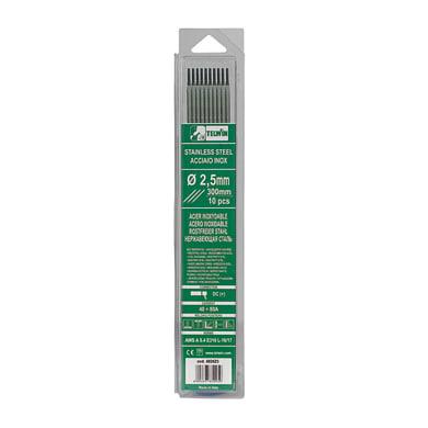 10 elettrodi inox Ø 2.5 mm