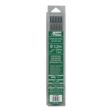 8 elettrodi inox Ø 32 mm