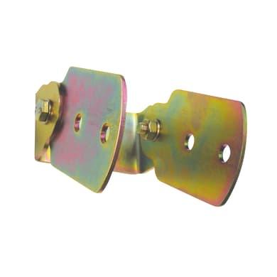 Supporto per palo   in acciaio L 10.6x H 16.5