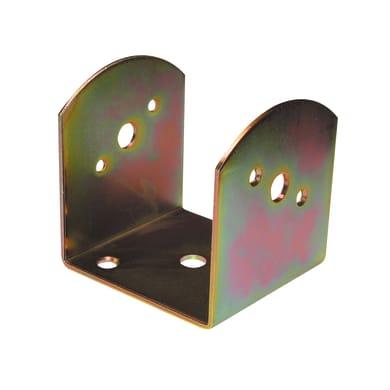 Supporto per palo Staffa in acciaio L 6x H 8.5
