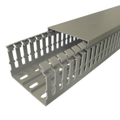 Canalina gtl V5K6060 200 x 6 x 6 cm grigio / argento