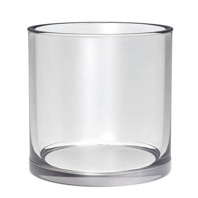 Vaso in vetro H 15 cm Ø 15 cm