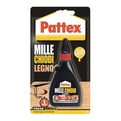 Colla per legno per legno<multisep/>metallo<multisep/>ceramica<multisep/>sughero Millechiodi PATTEX n/a 100 g