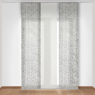 Pannello giapponese INSPIRE Noemi argento 60x300 cm