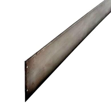 Bordura in rotolo in acciaio ALUBORD CORTEN L H5 CM L 150 x H 5 cm